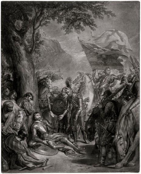 Benjamin-West-The-Death-of-the-Chevalier-Bayard-1